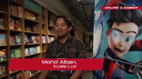 """ONLINE CYBER - Episode 11 """"Ejen Ali the Movie - Voice Auditions"""""""