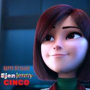 Happy Birthday Jenny or Cinco
