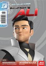 Majalah Komik Ejen Ali Misi 16