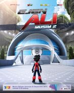Ejen Ali Poster Musim 2
