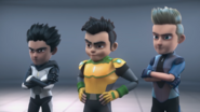 Rudy, Jet, Chris