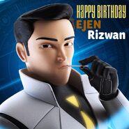 Happy Birthday Ejen Rizwan