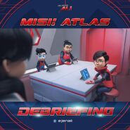 Misi Atlas - Debriefing
