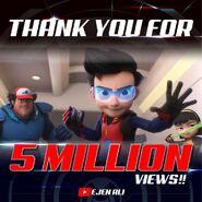 Thank You 5 Million Views