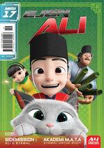 Majalah Komik Ejen Ali Misi 17