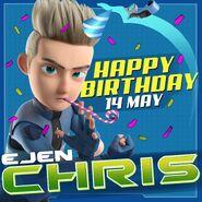 Happy birthday Chris (2018)
