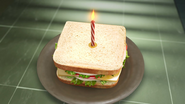Sandwhich With Candle