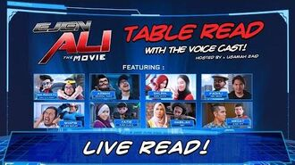 Ejen Ali The Movie Table Read