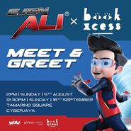 Ejen Ali x Book Xcess - Meet & Greet