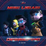 Misi Legasi - Debriefing