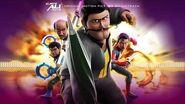 Mamak Maju Lyric Video - Azri Yunus, Hakim Kamal Ejen Ali The Movie OST