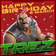Happy Birthday Trez