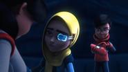 Iman looking to Geetha