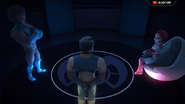 Hologram Zain, Ganz dan Dayang