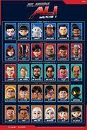 Ejen Ali Musim 1 Characters