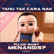 Ejen Ali Cara Nak Pujuk Baby Nangis