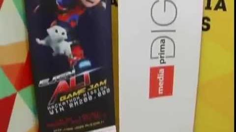"""Buletin TV3 coverage """"Ejen Ali Game Jam Hackathon Mission"""" (D01 M11 Y2015)"""