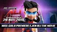 Ejen Ali The Movie Gala Night