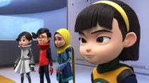 Moon, Khai, Iman, and Alicia