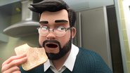 Ghazali Want To Eat His Bread