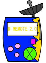 Dimensional Remote 2.0 (Blue) Transparent