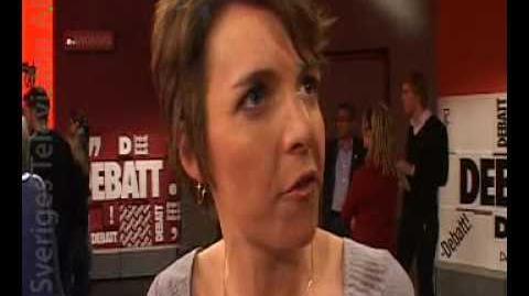 Zaida Catalán mot Hanna Wagenius om sexköpslagen