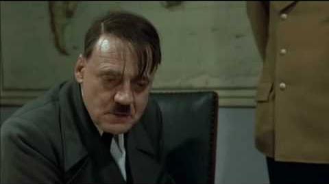 Hitler blir förbannad över Centerpartiets svek i kärnkraftsfrågan