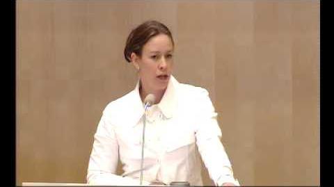 Maria Wetterstrands (MP) tal om kärnkraft i Riksdagen, del 1