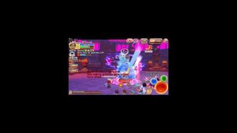 Wizard DPS Build Demonstration - Elemental Knights Online the WORLD