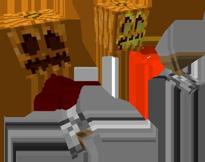 Redstone pumpkins