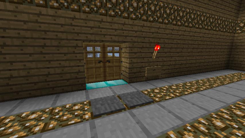 Lightswitch doorlock