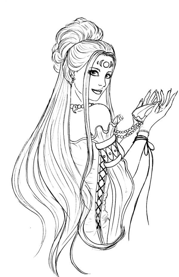 greek goddess gaia coloring pages | Imagen - Somnium.jpg | Wiki El Bestiario | FANDOM powered ...