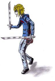 Jonathan y sus espadas de aluminio
