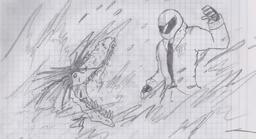 Redt vs el hombre cocodrilo