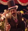 El hombre del sombrero