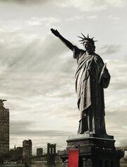 Estatua de la Libertad nazi