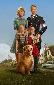 Familia estadounidense nazi