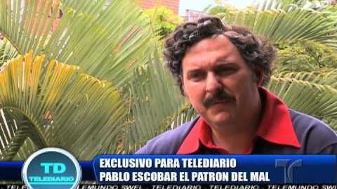 Pablo Escobar El Patron del Mal entrevista