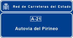 Red de Carreteras del Estado A-21