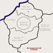 Order of Eläinrata map