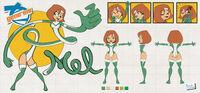 Model sheet mel by captain paulo-d87usjv