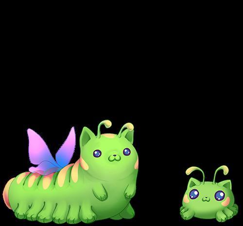 Catatapillar Wielkość
