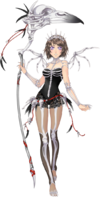 Gardienne Skeleton Witch