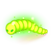 Food Glowing Caterpillar