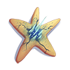 Étoile de mer à dards