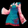 Sukienka tassel kimono