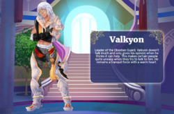Valkyon Library Entry
