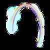 Kurzweiliger Regenbogen