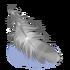 Silberne Feder