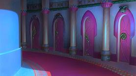14Prosty korytarz-noc